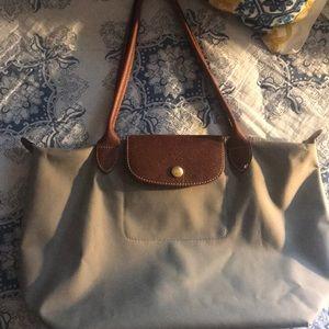 Longchamp gray bag